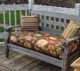 Attirant Almost No Sew Box Cushions Easy Peasy, Outdoor Furniture, Outdoor Living,  Reupholster