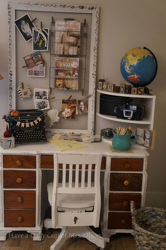 my creative space, craft rooms, home decor, shelving ideas