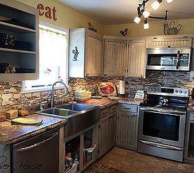 Kitchen Eat Sign A Thrifty Find, Crafts, Home Decor, Kitchen Design