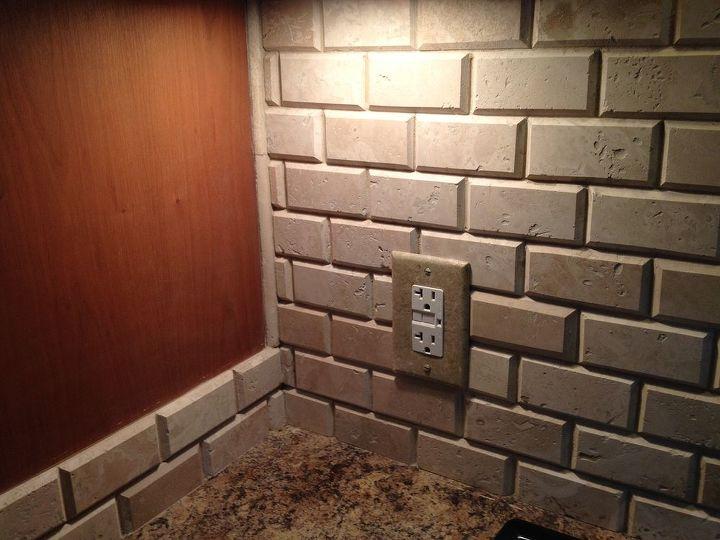 kitchen renovation backsplash tile, diy, kitchen backsplash, kitchen design, painting, tiling