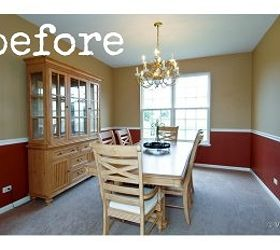 Dining Room Makeover Brightening, Chalk Paint, Dining Room Ideas, Home  Decor, Paint