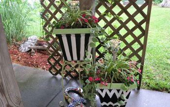 Plastic Old Flower Planters