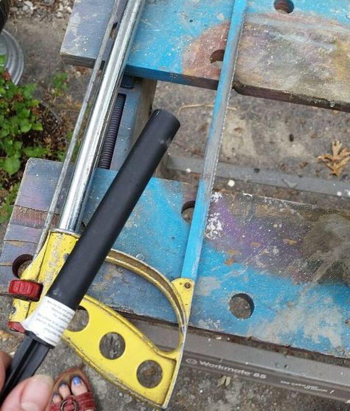 diy solar light holder, crafts, diy, outdoor living