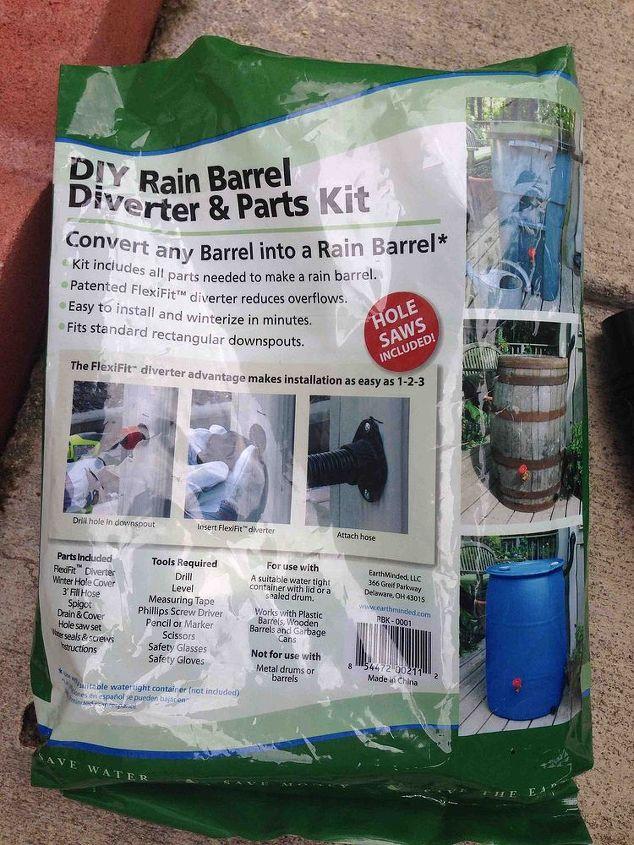 rain barrel, gardening, go green