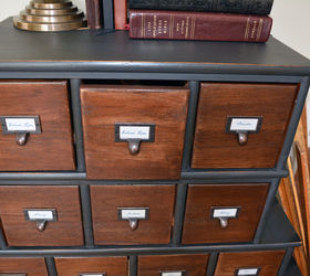 Nice Vintage Style Apothecary Cabinet Before After, Painted Furniture