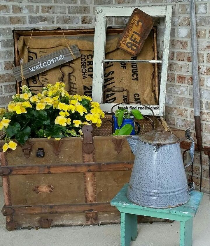 Front Porch in the Summer