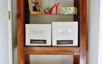 Get Organized With Thrifty DIY Drop Cloth Fabric Covered Storage Boxes