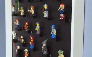 lego display diy picture frame, crafts, home decor, wall decor