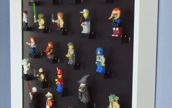 DIY Lego Mini-Figure Display