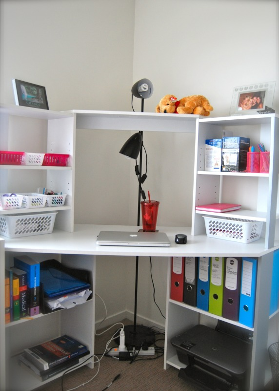 a stylish practical university student room on a budget