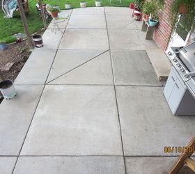 Beautiful Patio Remodel Paint Design, Concrete Masonry, Diy, Patio, Patio After Power  Washing