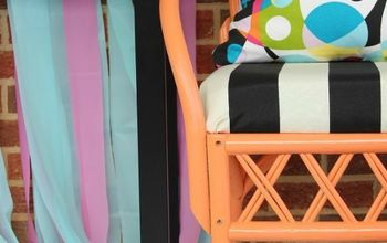 Outdoor Furniture Makeover by Rain on a Tin Roof