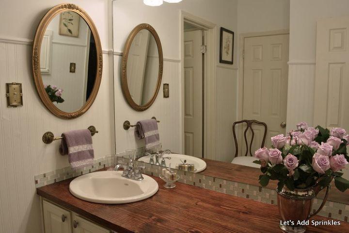 Wooden Bathroom Countertop Hometalk
