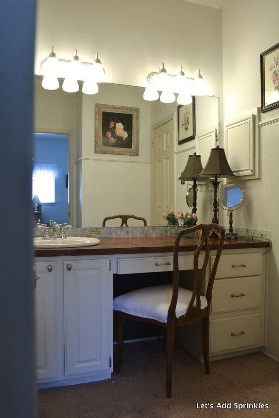 Wooden Bathroom Countertop