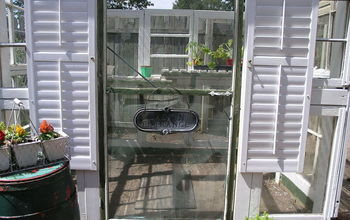 greenhouse upcycle window frames salvage, diy, gardening, repurposing upcycling, windows