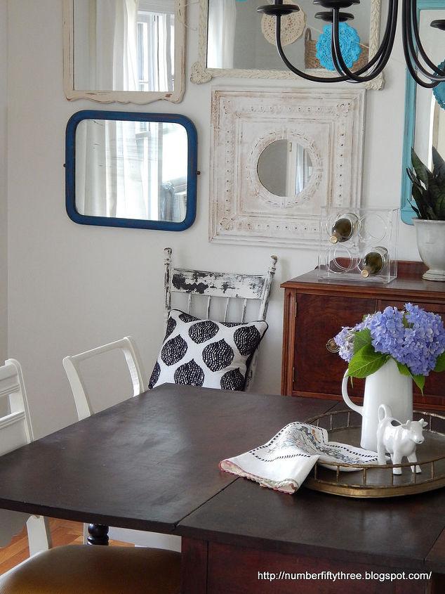 Summer Dining Room Tour & Boho Doily Bunting | Hometalk