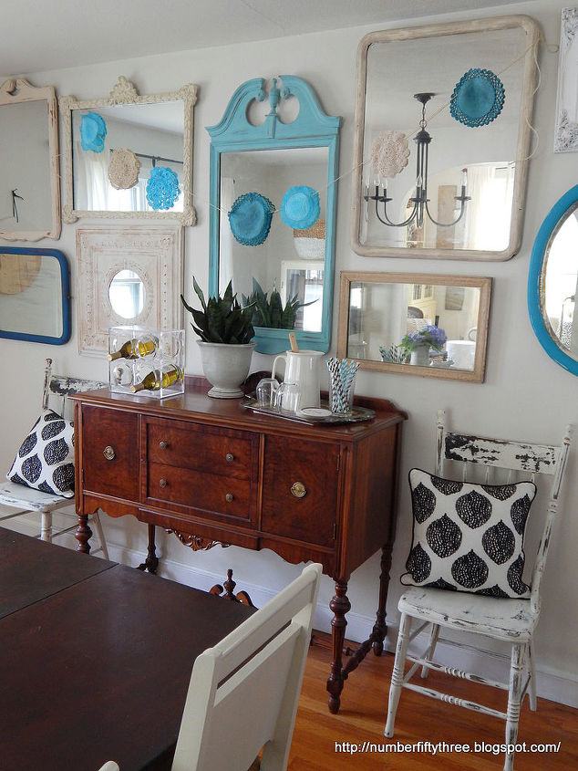 Bunting Boho Doily Diy Dining Room Decor Ideas