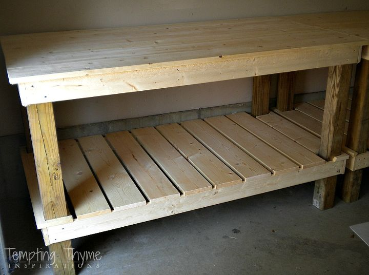 Quick And Easy Diy Potting Bench Hometalk