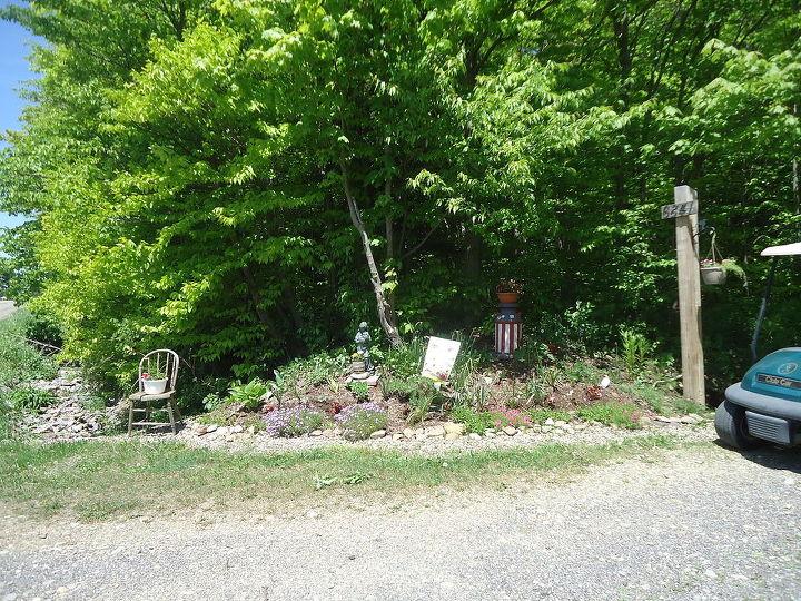 roadside garden, gardening