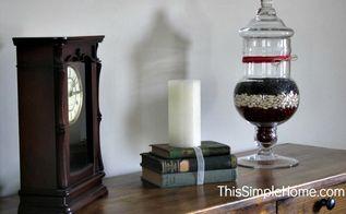 apothecary jar diy patriotic summer, home decor, living room ideas, patriotic decor ideas, seasonal holiday decor