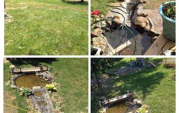 diy water features, diy, outdoor living, ponds water features