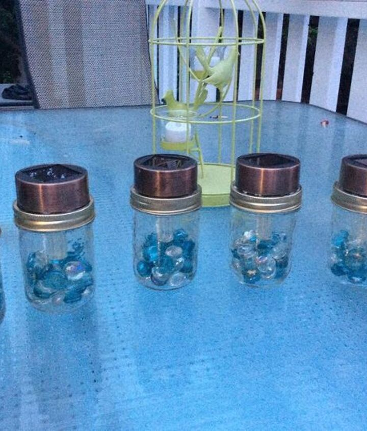lights outdoor solar how to, lighting, outdoor living, repurposing upcycling