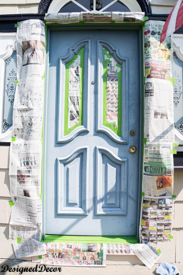 How To Spray Paint The Front Door Hometalk