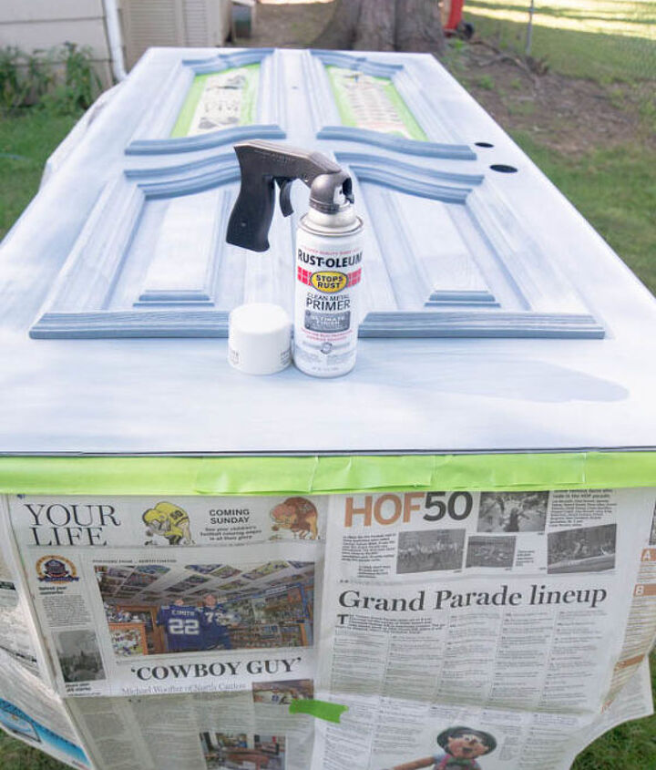 front door spray paint hot to, curb appeal, doors, how to, painting