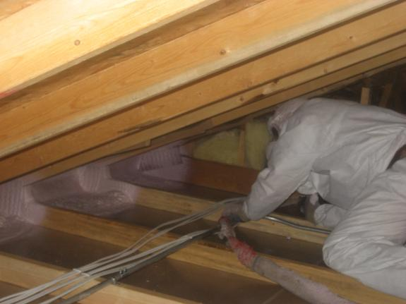 closed cell foam done by virginia home insulation, hvac