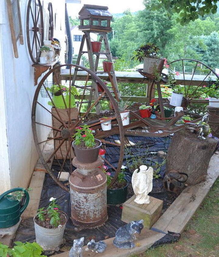 garden treasures goodwill virginia, container gardening, flowers, gardening, repurposing upcycling