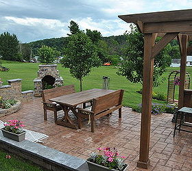 Awesome Patio Renovation Stone Garden, Flowers, Gardening, Landscape, Outdoor  Furniture, Outdoor Living