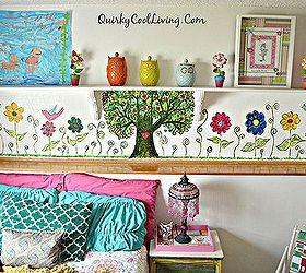 Wonderful Mural Bohemian Little Girls Room, Bedroom Ideas, Diy, Home Decor, Painting Images