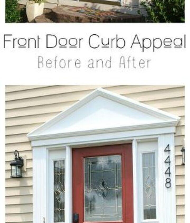 front door curb appeal budget, doors