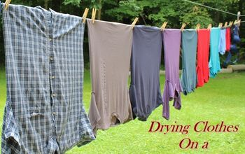 Drying Clothes on a Clothesline: