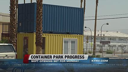 a year ago here in vegas open a container park all of it is built out of ship containers its awesome - Seecontainerhuser Wa