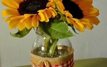 Easy Summer Vase