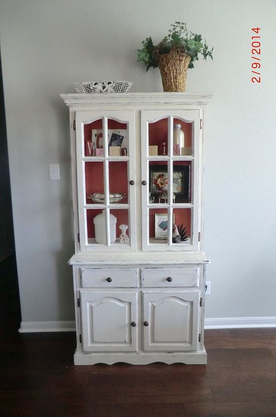China Cabinet Up Cycle In Cece Caldwell S Paints In