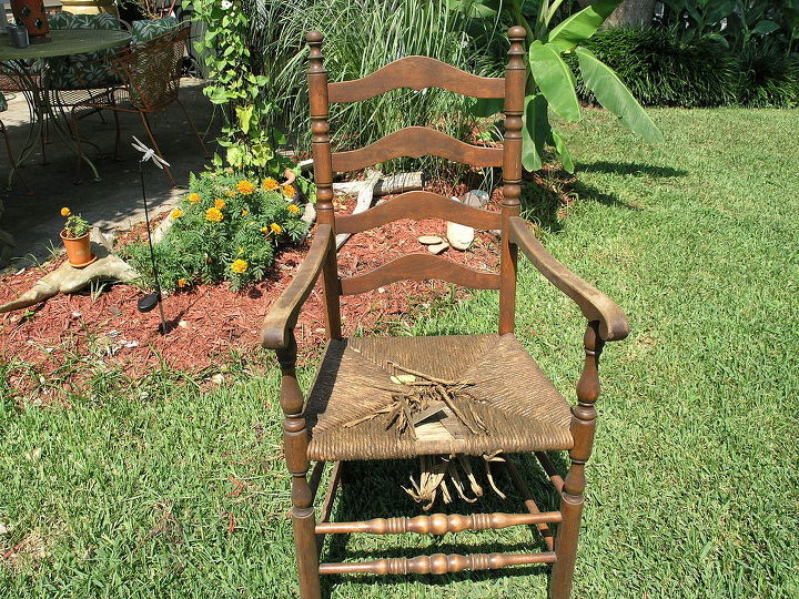 wooden chair old upcycle, painted furniture