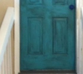 Okay this was my first ever attempt at glazing u0026 I love it! I also glazed my bright red front door and have so many other projects in mind! & How do I glaze or distress my turquoise door? | Hometalk