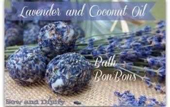Lavender and Coconut Oil Bath BonBons