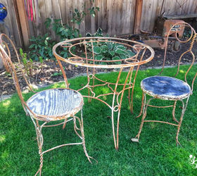 Soda Fountain Parlor Reclaimed Antique, Outdoor Furniture, Painted Furniture