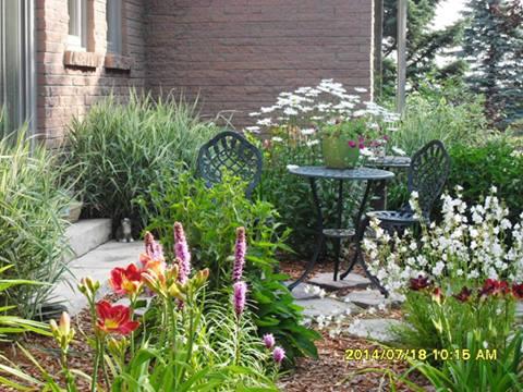 cozy corner, gardening, landscape, outdoor living