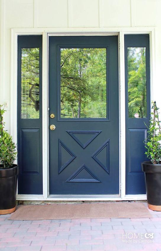 front door paint makeover, doors