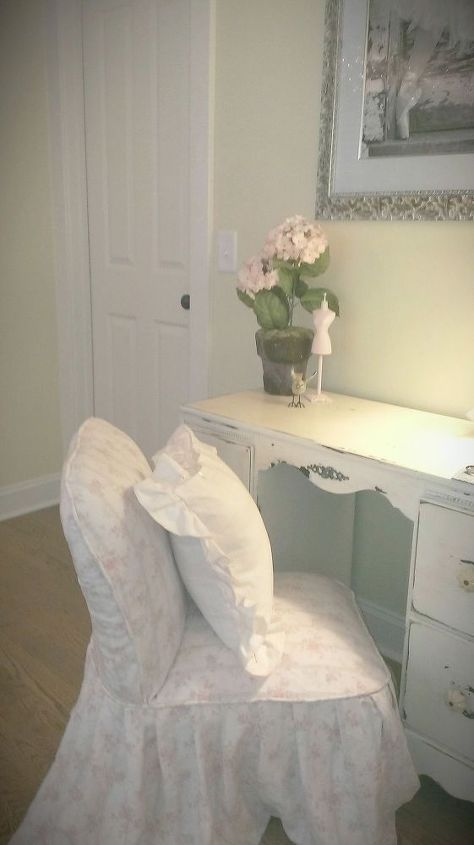 ballet studio room decor, home decor, painted furniture, repurposing upcycling, shabby chic, reupholster