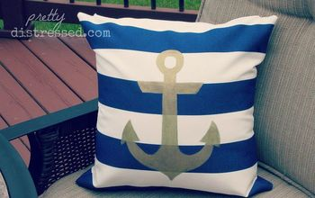 Deck Mini Makeover With Navy and Nautical
