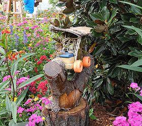 Fairy Garden Ideas Disney, Flowers, Gardening, Repurposing Upcycling
