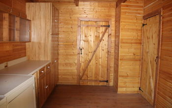 What type of hall tree/hat rack would you put in a log cabin mud room?