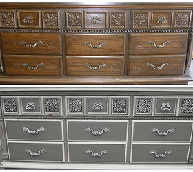 Great Dresser Grey Lowboy Paint, Home Decor, Painted Furniture