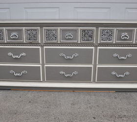 Dresser Grey Lowboy Paint, Home Decor, Painted Furniture