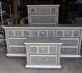 Perfect Dresser Grey Lowboy Paint, Home Decor, Painted Furniture